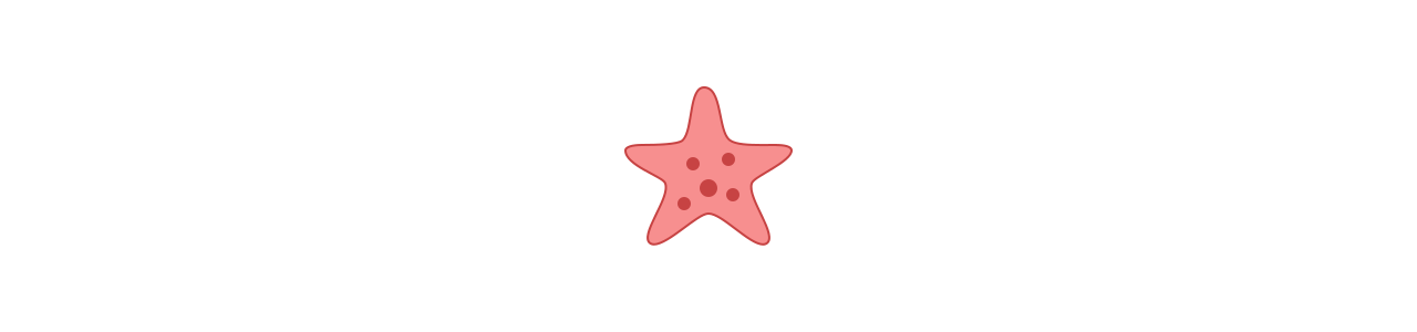 Mascotte di stelle marine - Costumi mascotte Redbrokoly.com-null