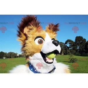 Mascot of the day: White beige and brown dog mascot. Discover @redbrokoly #mascots - Link : https://bit.ly/2Znokkz - REDBROKO_0613 #white #mascots #mascot #event #costume #redbrokoly #marketing #customized #and #dog #brown #costume #beige #custom https://www.redbrokoly.com/en/dog-mascots/613-white-beige-and-brown-dog-mascot.html