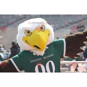 Mascot of the day: Large yellow and brown white eagle mascot. Discover @redbrokoly #mascots - Link : https://bit.ly/2Znokkz - REDBROKO_0623 #white #mascots #mascot #event #costume #redbrokoly #marketing #customized #and #brown #yellow #eagle #costume #... https://www.redbrokoly.com/en/bird-mascot/623-large-yellow-and-brown-white-eagle-mascot.html