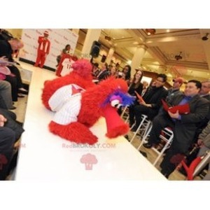 Mascot of the day: Mascot big red blue and white bird. Discover @redbrokoly #mascots - Link : https://bit.ly/2Znokkz - REDBROKO_0448 #white #mascots #mascot #event #costume #redbrokoly #marketing #customized #and #blue #red #costume #big #bird #custom https://www.redbrokoly.com/en/bird-mascot/448-mascot-big-red-blue-and-white-bird.html
